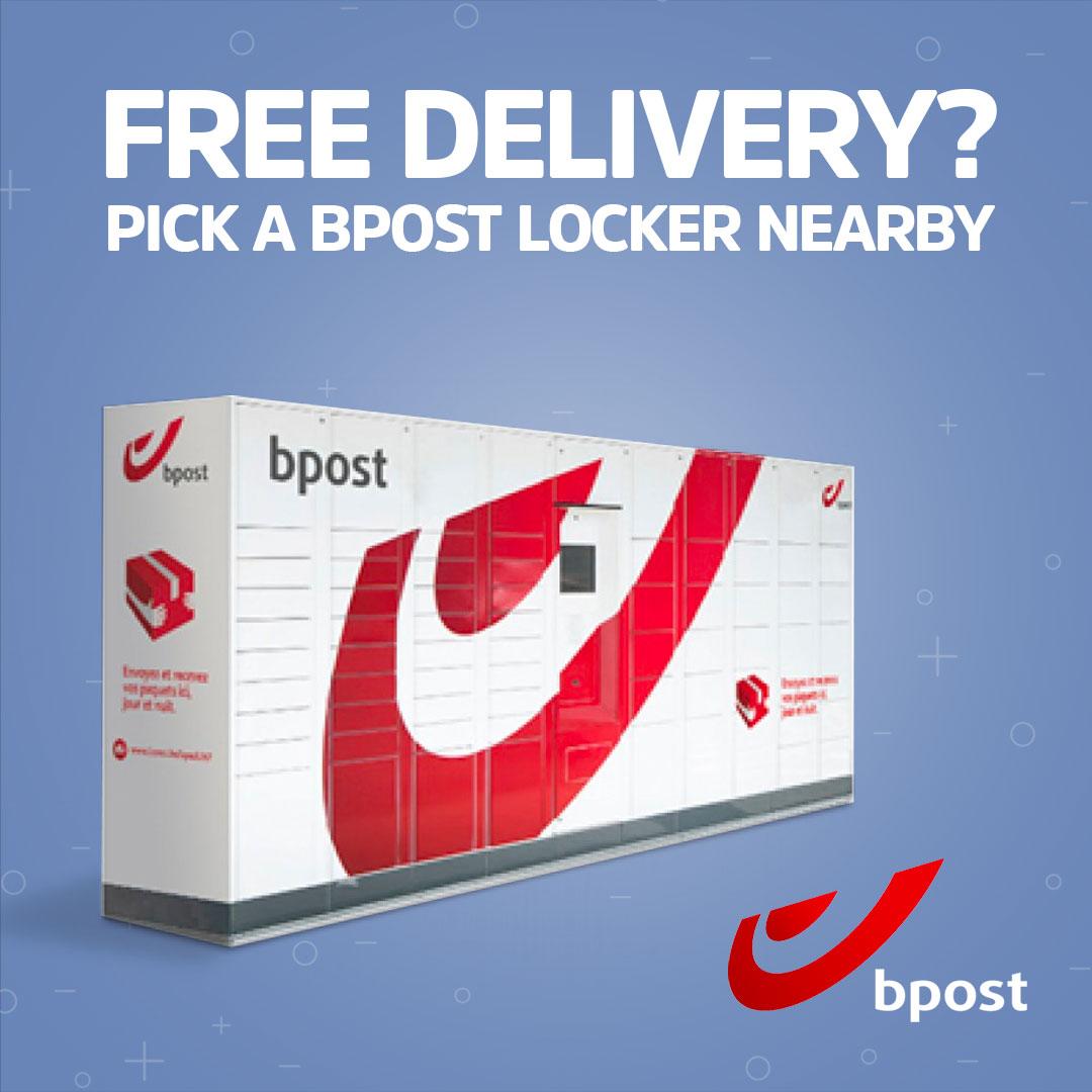 TOP - Bpost parcel delivery