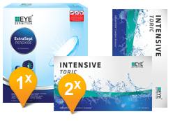 eyedefinition intensive toric & ExtraSept promo pack