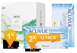 Acuvue Oasys voor Astigmatisme & Sensitive Plus MPS Promo Pack
