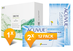 ACUVUE OASYS® pour l'Astigmatisme & EyeDefinition SENSITIVE Pack Promo