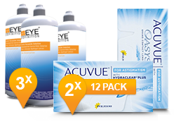 Acuvue Oasys voor Astigmatisme & Soft Peroxide Solution Promo Pack