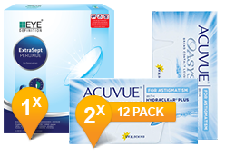 Acuvue Oasys pour l'Astigmatisme & EasySept Pack Promo