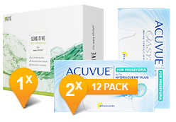 Acuvue Oasys Presbyopia & Sensitive Plus MPS Promo Pack