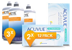 ACUVUE OASYS® voor Presbyopia & Soft Peroxide Solution Promo Pack