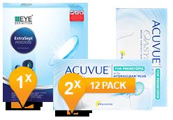 Acuvue Oasys voor Presbyopia & ExtraSept Pack Promo