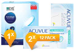Acuvue Oasys pour myopes & Easysept Paquet Promo 6 Mois