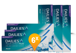 Dailies AquaComfort Plus Multifocal (90 + 90 lentilles)