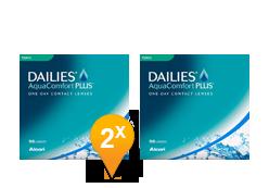 Dailies AquaComfort Plus Toric (90 + 90 lenzen)