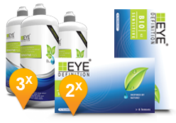 EyeDefinition Bio Sensitive & Sensitive Plus MPS Promo Pack