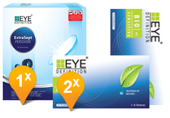 EyeDefinition Bio Sensitive & EasySept Promo Pack