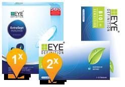 EyeDefinition Bio Sensitive & ExtraSept Promo Pack