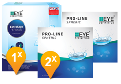 EyeDefinition Pro-Line Spheric & ExtraSept Pack Promo