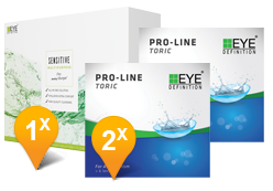 EyeDefinition Pro-Line Toric & SENSITIVE Promo Pack