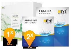 EyeDefinition Pro-Line Multifocal & Sensitive Plus MPS Promo Pack