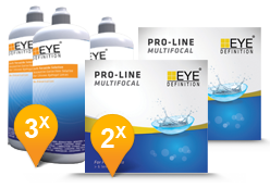EyeDefinition Pro-Line Multifocal & Soft Peroxide Solution Promo Pack