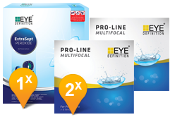 Proclear & Clearvision MPS Paquet Promo 6 Mois