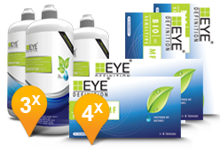 EyeDefinition Bio Sensitive Multifocal & Sensitive Plus MPS Promo Pack
