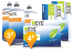 EyeDefinition Bio Sensitive Multifocal & Soft Peroxide Solution Promo pack