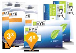 EyeDefinition Bio Sensitive Toric & Soft Peroxide Solution Promo pack