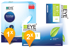 EyeDefinition Bio Sensitive Toric & ExtraSept Promo Pack