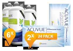 Acuvue Oasys & Sensitive Plus MPS Jaar Promo Pack
