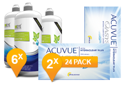 ACUVUE OASYS® & Sensitive Plus MPS Jaar Promo Pack