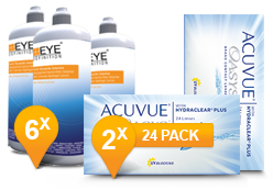 ACUVUE OASYS® & Soft Peroxide Solution Jaar Promo Pack