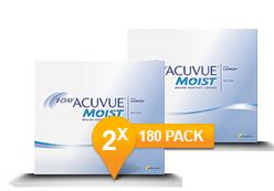 1-DAY ACUVUE® MOIST Halfjaar Promo Pack