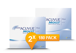 1-DAY ACUVUE® MOIST Halfjaar Promo Pack