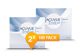 1-DAY ACUVUE® TruEye 2 x 180 Promo Pack