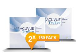 1-Day Acuvue TruEye 2 x 180 Promo Pack
