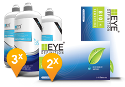 1-Day Acuvue Moist for Astigmatism 6M Promo Pack
