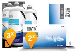 Air Optix Aqua &  ReNu MultiPlus Paquet Promo 6 Mois