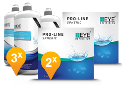 EyeDefinition Pro-Line Spheric & Pro-Vitamin B5 MPS Pack Promo