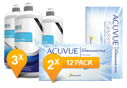 ACUVUE OASYS® & Pro-Vitamin B5 MPS Pack Promo