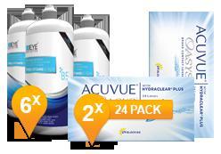 ACUVUE OASYS® & Pro-Vitamin B5 MPS Jaar Promo Pack