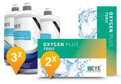 EyeDefinition Oxygen Plus Toric & Pro-Vitamin B5 MPS Promo Pack