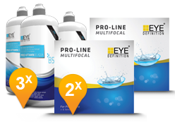 EyeDefinition Pro-Line Multifocal & Pro-Vitamin B5 MPS Promo Pack
