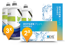 EyeDefinition Oxygen Plus & Sensitive Plus avec Hyaluron MPS Pack Promo