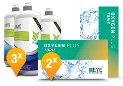 EyeDefinition Oxygen Plus Toric & Sensitive Plus met Hyaluron MPS Promo Pack
