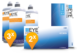 EyeDefinition Classic 55AS & Soft Peroxide Solution Promo Pack