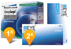 EyeDefinition Classic & EasySept Promo Pack