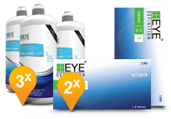 EyeDefinition Classic Toric & Pro-Vitamin B5 MPS Pack Promo