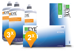 EyeDefinition Classic Toric & Soft Peroxide Solution Pack Promo