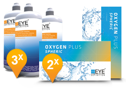 EyeDefinition Oxygen Plus & Soft Peroxide Solution Promo Pack