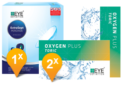 EyeDefinition Oxygen Plus Toric & ExtraSept Promo Pack