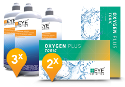 EyeDefinition Oxygen Plus Toric & Soft Peroxide Solution Promo Pack