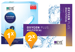 EyeDefinition Oxygen Plus Multifocal & ExtraSept Promo Pack