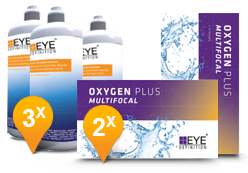 EyeDefinition Oxygen Plus Multifocal & Soft Peroxide Solution Promo Pack