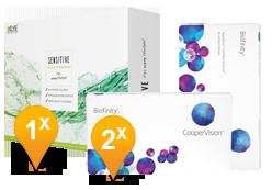 Biofinity & Sensitive Plus MPS Pack Promo